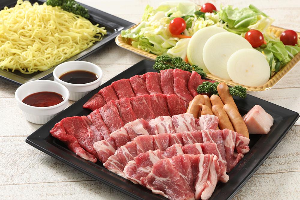 信州産牛肉・豚肉セット
